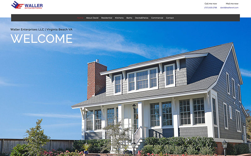 Waller Enterprises Web Design